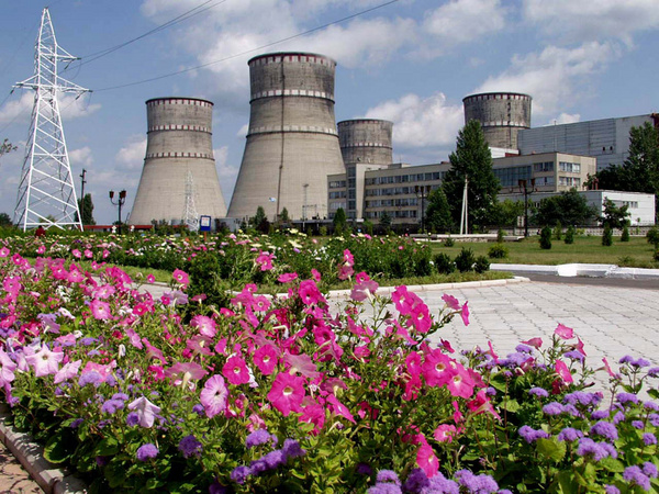Rovno Nucclear Power Plant (Ukraine)